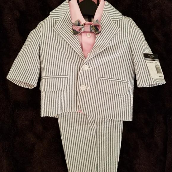 8e367da33 Nautica Matching Sets   4 Pc Baby Boy Suit   Poshmark